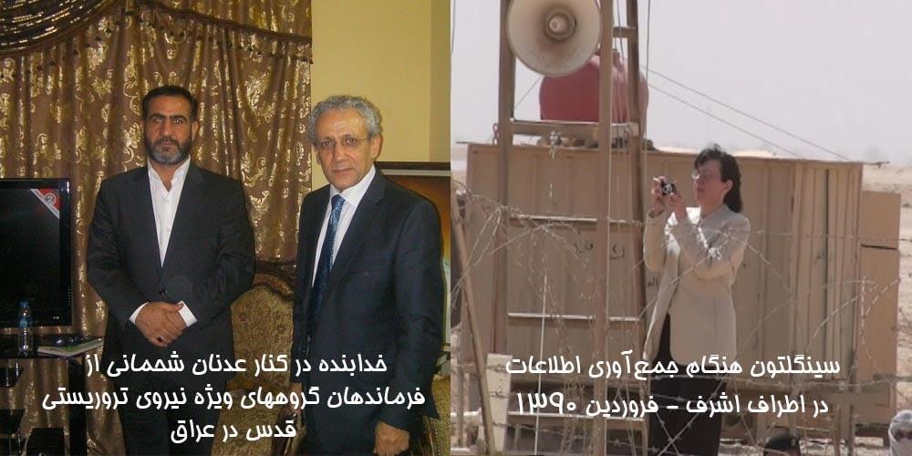 آن سینگلتون، مسعود خدابنده و اینترلینک شعبه خارج کشوری وزارت اطلاعات