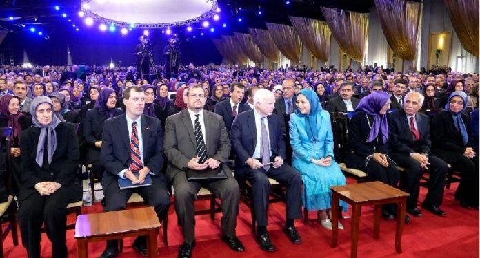 Maryam Rajavi - John Mc K yen-min