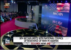 Rajavi Senator McCain