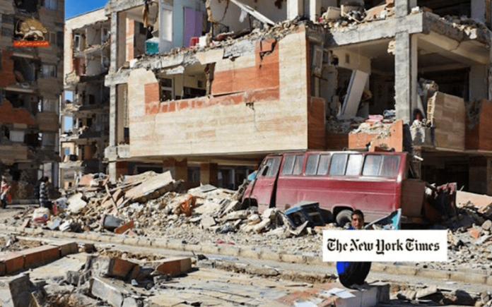 نیویورک تایمز_ مردم ایران از افتضاح ساختمانسازی-min