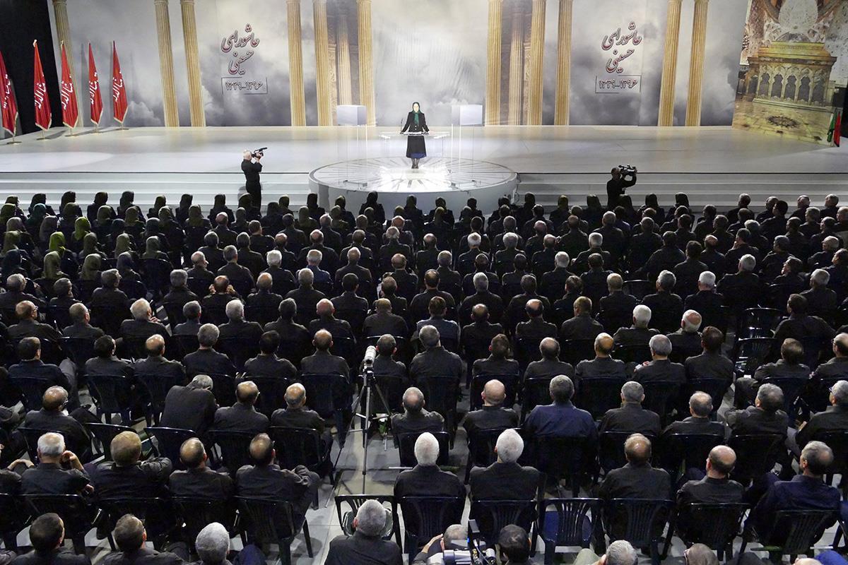 3-سخنرانی مریم رجوی در مراسم عاشورا - مهر ۱۳۹۶