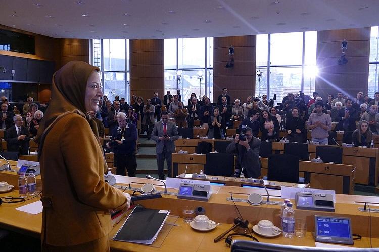 سخنرانی مریم رجوی در پارلمان اروپا2
