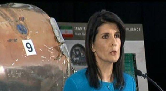 نیکی هیلی -شلیک شده به ریاض اثر انگشت رژیم ایران-min