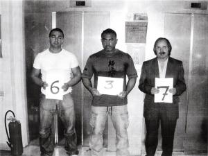 سبحانی به همراه دو چاقوکش سفارت رژیم در بازداشتگاه پلیس فرانسه-min