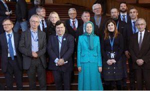 مریم رجوی ا-فراکسیون حزب مردم اروپا