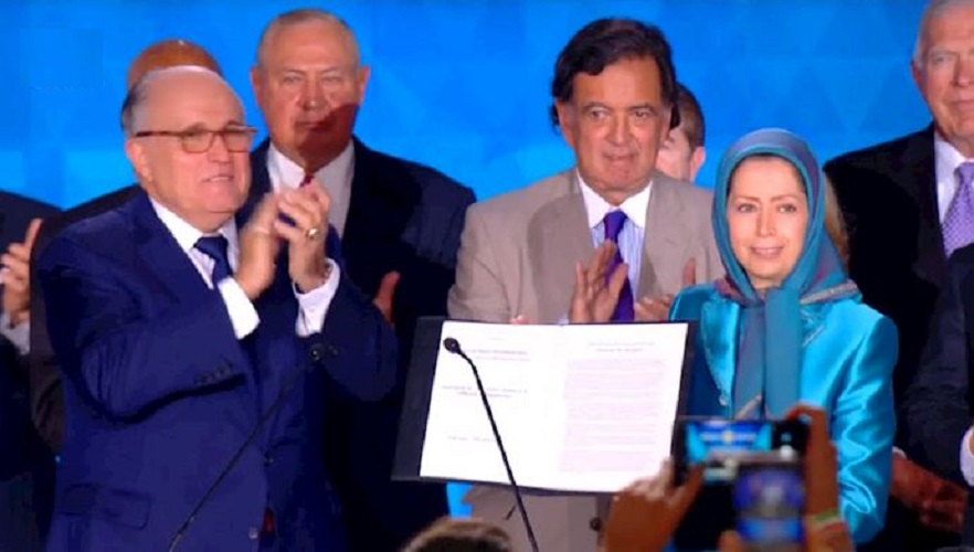 همایش بزرگ مقاومت ایران در پاریس