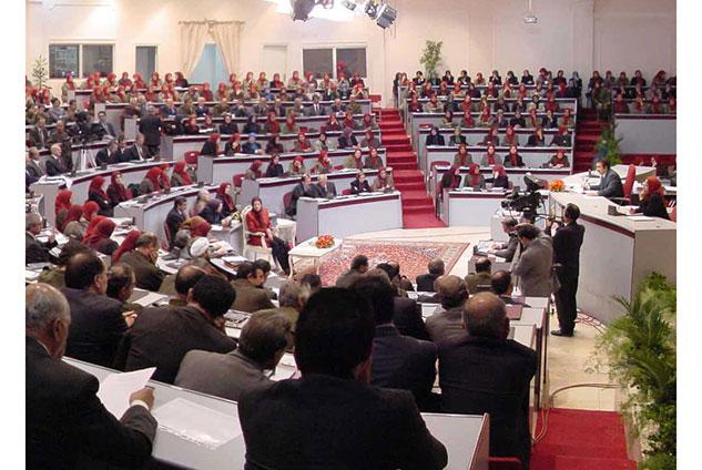 شورای ملی مقاومت ایران - مجاهدین در البانی