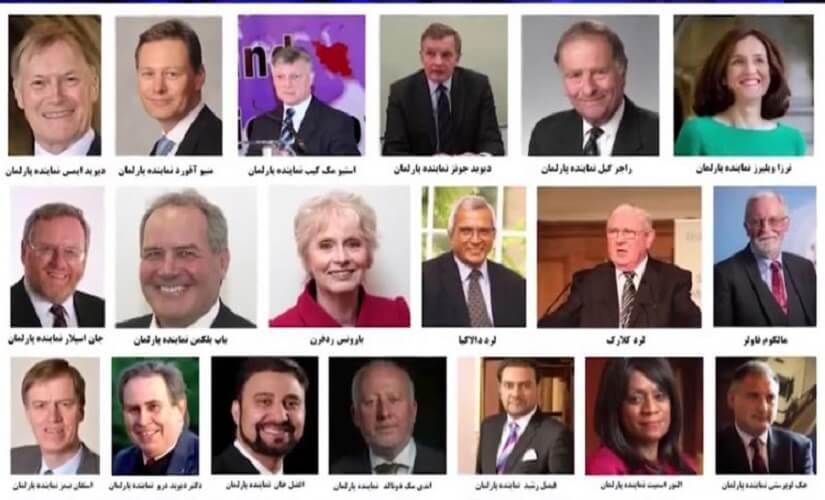 نمایندگان پارلمان انگلستان حمایت خود را از مقاومت ایران