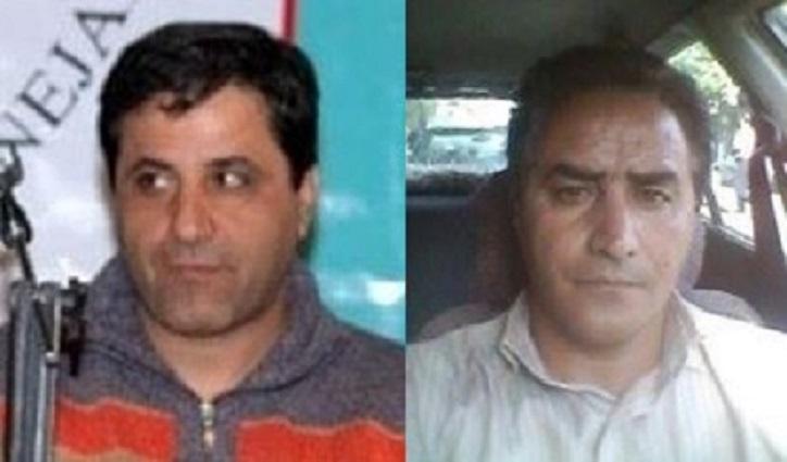 سعید باقری و آرش رضایی