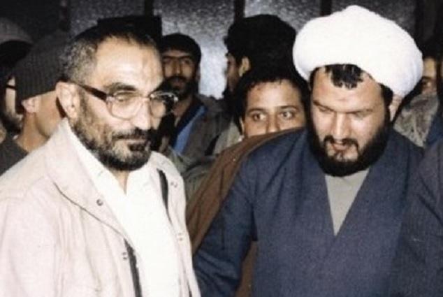 آخوند خون آشام علی رازینی و جلاد اوین اسدالله لاجوردی