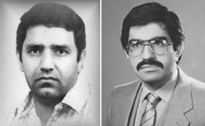 مجاهدان شهید صادق سیدی (کاک اسد) و حسین مشارزاده