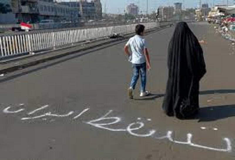 سرنگونی نظام آخوندی در ایران خواست اول مردم بپاخاسته عراق