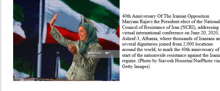 کنفرانسبینالمللی باحضور رئیسجمهور برگزیدهمقاومت درآغاز چهلمینسال مقاومتانقلابی