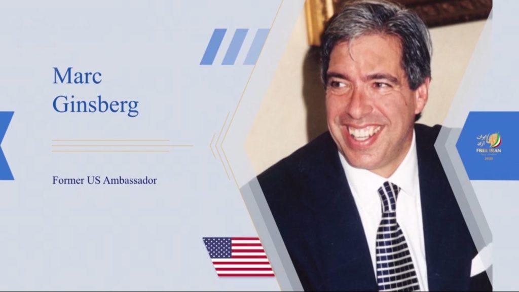 پاتریک کندی، لوئیس فری، لیندا چاوز و مارک گینزبرگ درکنفرانس بینالمللی اینترنتی ایران آزاد