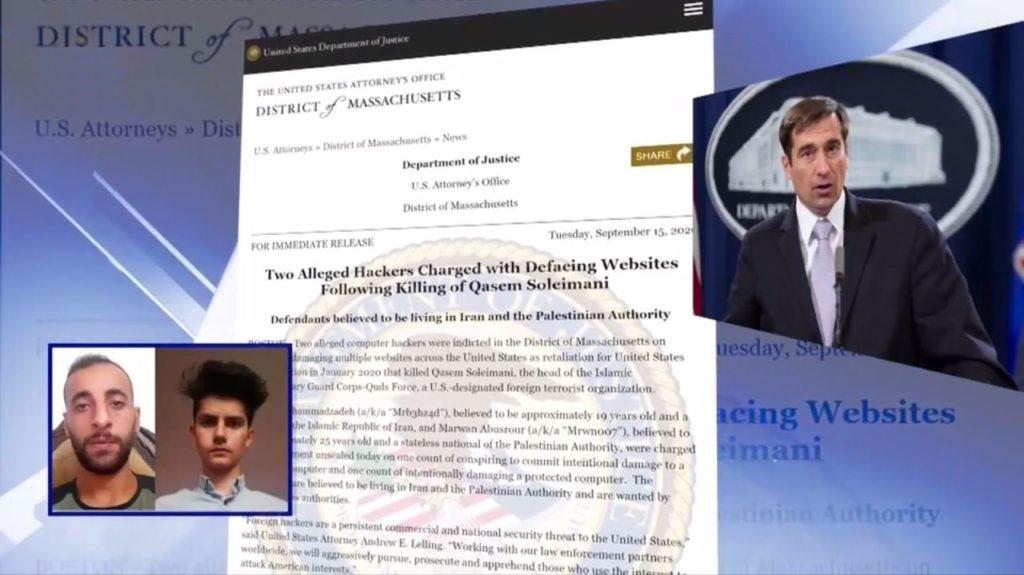 تحریم دونهاد وابسته به وزارت اطلاعات، به خاطر کارزار بدافزاری وزارت بدنام علیه مخالفان، توسط امریکا