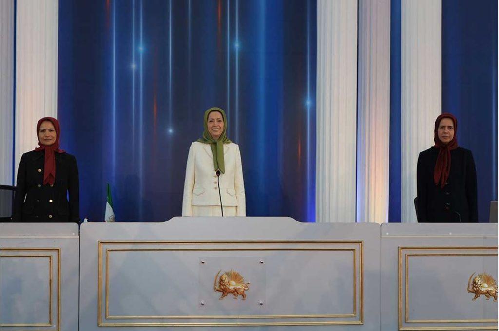 سخنرانی مریم رجوی در مراسم آغاز پنجاه و ششمین سال تاسیس سازمان مجاهدین خلق ایران