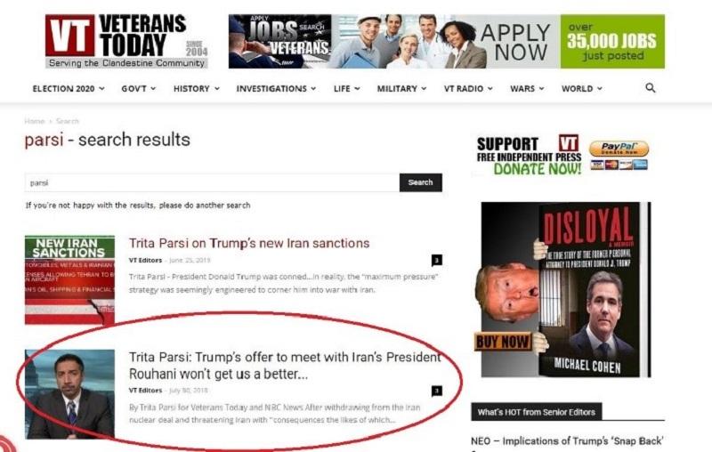 تبلیغات دروغین وترنس تودی علیه مجاهدین بخشی از کارزار شیطان سازی آخوندها برای پیشبرد طرحهای تروریستی
