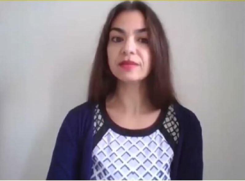 دیانا الطحاوی معاون خاورمیانه و آفریقای شمالی سازمان عفو بینالملل