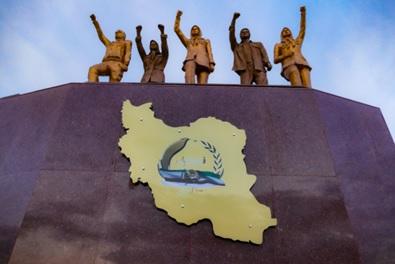 نماد کانونهای شورشی اشرف۳