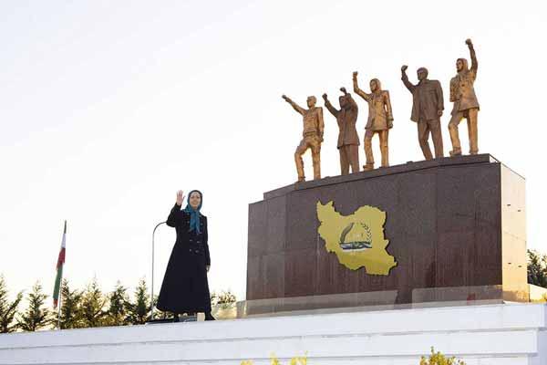 مریم رجوی نماد قیام آفرینان اشرف۳